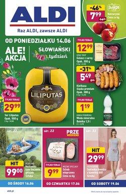 Oferty Supermarkety na ulotce Aldi ( Wydany wczoraj)