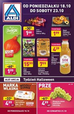 Oferty Supermarkety na ulotce Aldi ( Wydany dzisiaj)