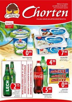 Oferty Chorten na ulotce Chorten ( Ważny 4 dni)