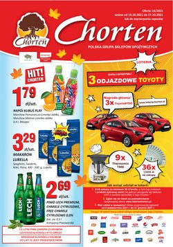 Oferty Chorten na ulotce Chorten ( Ważny 10 dni)
