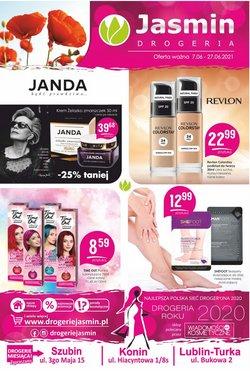 Oferty Perfumy i kosmetyki na ulotce Jaśmin ( Ważny 2 dni)