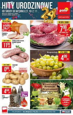 Oferty Supermarkety na ulotce Polomarket ( Wydany dzisiaj)