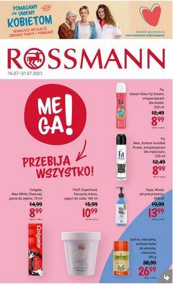 Oferty Perfumy i kosmetyki na ulotce Rossmann ( Ważny 7 dni)