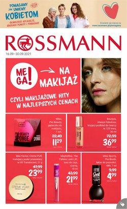 Oferty Perfumy i kosmetyki na ulotce Rossmann ( Ważny 3 dni)