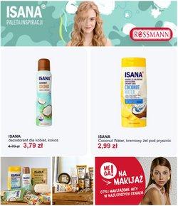 Oferty Perfumy i kosmetyki na ulotce Rossmann ( Ważny 4 dni)