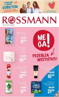 Oferty Perfumy i kosmetyki na ulotce Rossmann ( Ważny 14 dni)