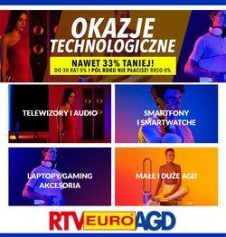 Oferty Elektronika i AGD na ulotce RTV EURO AGD ( Wydany dzisiaj)