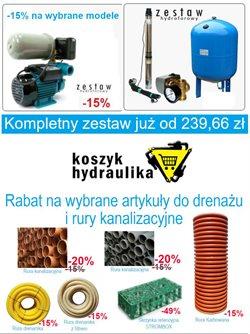 Oferty Budownictwo i ogród na ulotce Koszyk Hydraulika ( Wygasa dzisiaj)