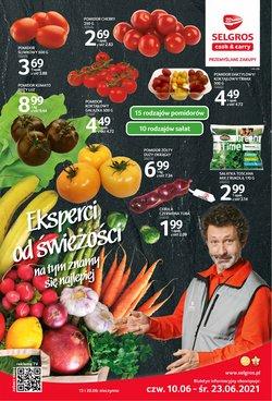 Oferty Supermarkety na ulotce Selgros ( Wygasa jutro)