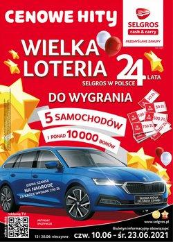 Oferty Supermarkety na ulotce Selgros ( Ważny 4 dni)