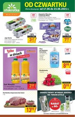 Oferty Supermarkety na ulotce Stokrotka ( Wygasa jutro)