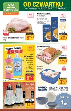 Oferty Supermarkety na ulotce Stokrotka ( Ważny 2 dni)