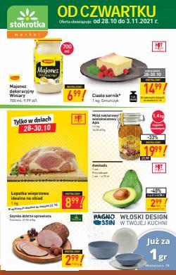 Oferty Supermarkety na ulotce Stokrotka ( Wydany wczoraj)