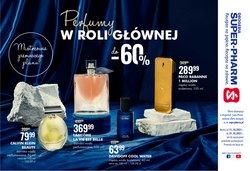 Oferty Perfumy i kosmetyki na ulotce Super Pharm ( Ważny 14 dni)