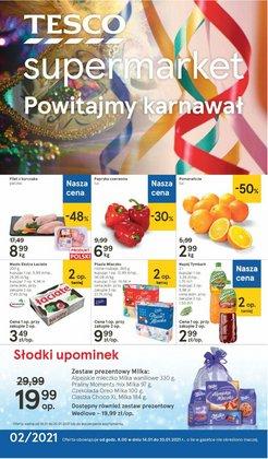 Oferty Supermarkety w Tesco ( Wygasa dzisiaj )