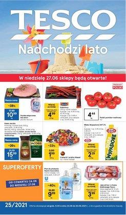 Oferty Supermarkety na ulotce Tesco ( Ważny 5 dni)
