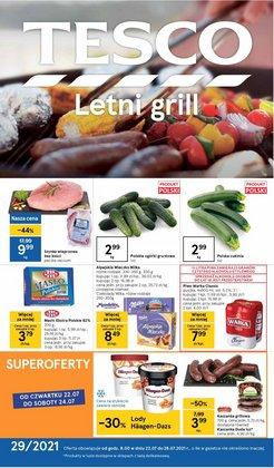 Oferty Supermarkety na ulotce Tesco ( Ważny 4 dni)