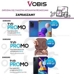 Oferty Vobis na ulotce Vobis ( Wydany wczoraj)