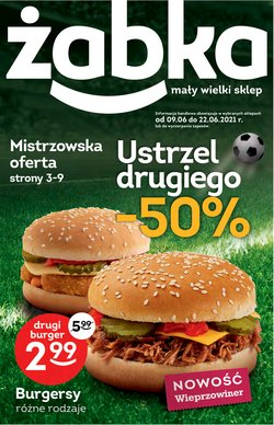 Oferty Supermarkety na ulotce Żabka ( Wygasa dzisiaj)