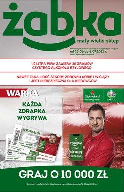Oferty Supermarkety na ulotce Żabka ( Ważny 11 dni)
