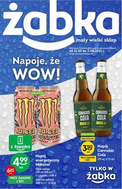 Oferty Supermarkety na ulotce Żabka ( Ważny 10 dni)