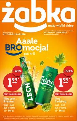 Oferty Supermarkety na ulotce Żabka ( Wygasa jutro)