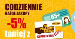 Oferty Piotr i Paweł na ulotce Warszawa