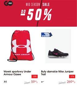 Oferty NIKE na ulotce Go Sport ( Ważny 11 dni)