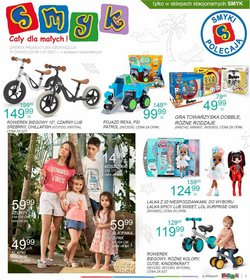 Oferty Dzieci i zabawki na ulotce Smyk ( Ważny 6 dni)