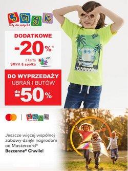 Oferty Dzieci i zabawki na ulotce Smyk ( Wydany wczoraj)