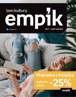 Gazetka Empik ( Wydany wczoraj )