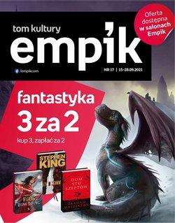 Oferty Książki i artykuły biurowe na ulotce Empik ( Ważny 5 dni)