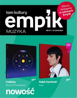 Oferty Empik na ulotce Empik ( Ważny 7 dni)