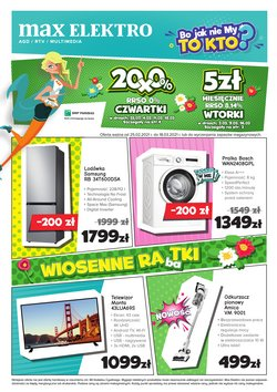 Oferty Elektronika i AGD w Max Elektro ( Ważny 10 dni )