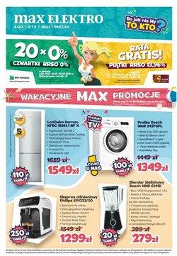 Oferty Max Elektro na ulotce Max Elektro ( Ważny 3 dni)