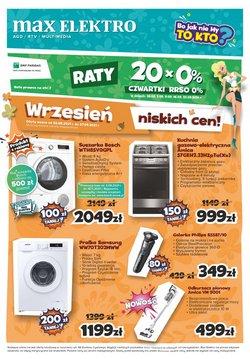 Oferty Elektronika i AGD na ulotce Max Elektro ( Ważny 4 dni)