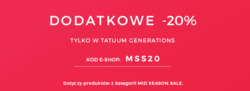 Oferty Tatuum na ulotce Wrocław