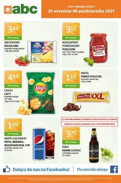 Oferty Supermarkety na ulotce abc ( Wydany dzisiaj)