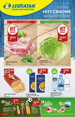 Oferty Supermarkety na ulotce Lewiatan ( Ważny 4 dni)