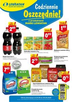 Oferty Supermarkety na ulotce Lewiatan ( Wydany wczoraj)
