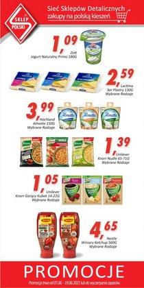 Oferty Supermarkety na ulotce Sklep Polski ( Wygasa dzisiaj)