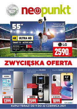 Oferty Elektronika i AGD na ulotce Neopunkt ( Ważny 7 dni)