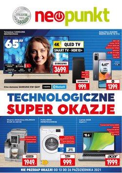 Oferty Elektronika i AGD na ulotce Neopunkt ( Ważny 9 dni)