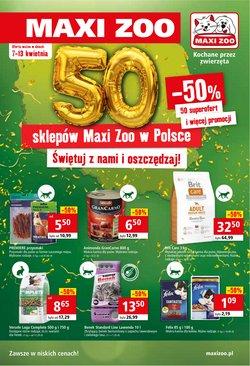 Gazetka Maxi Zoo ( Ważny 2 dni )