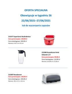 Oferty Dom i meble na ulotce Tupperware ( Wydany dzisiaj)