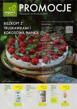 Oferty Organic Farma Zdrowia na ulotce Organic Farma Zdrowia ( Ważny 11 dni)
