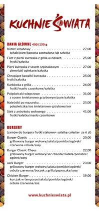 Oferty Supermarkety na ulotce Kuchnie Świata ( Ważny 2 dni)
