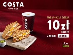 Gazetka Costa Coffee ( Wygasa jutro )