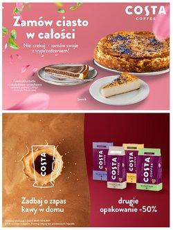 Oferty Costa Coffee na ulotce Costa Coffee ( Wygasłe)