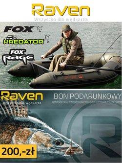 Oferty Raven Fishing na ulotce Raven Fishing ( Wydany dzisiaj)
